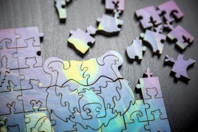 Пробуждение мозаика из дерева DaVICI