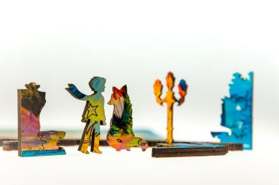 пазл из дерева сказочный принц DaVICI в Минске с доставкой. Настоящая история маленького принца на деревянной мозаике. Отличный подарок для мужчин, девушек и детей
