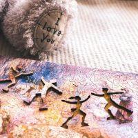 Зимние сны. Деревянная мозаика минск