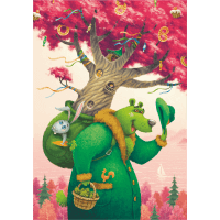 Зеленый медведь