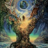 Деревянный пазл DaVICI дерево жизни миллениум