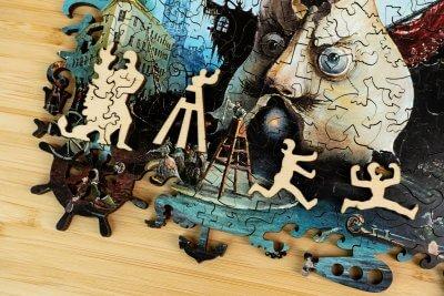 Невская увертюра пазл из дерева давичи деревянная мозаика davici деревянный