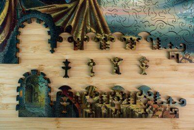 Иллюзия реальности пазл из дерева давичи