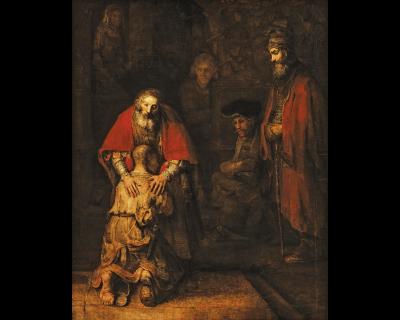 Возвращение блудного сына деревянный пазл davici